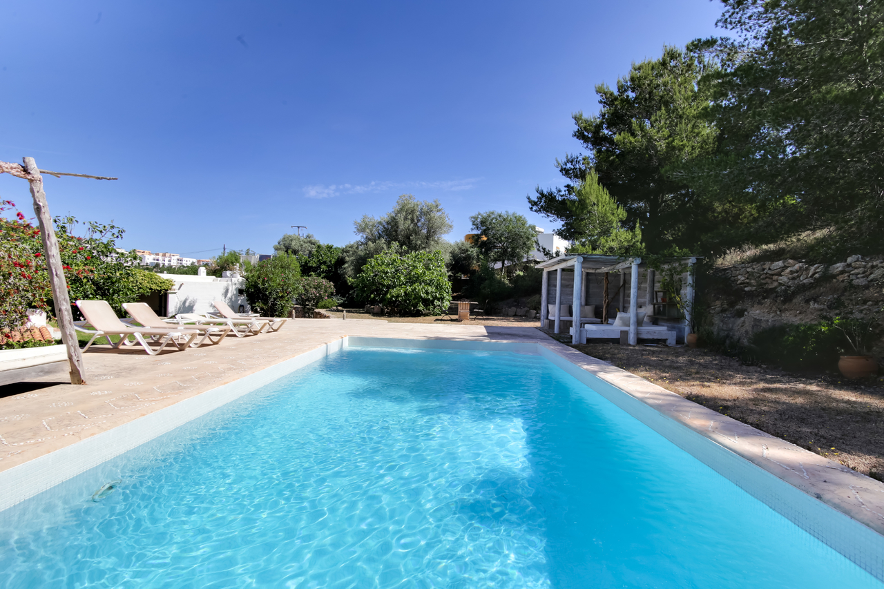 Authentique finca avec piscine à Ibiza