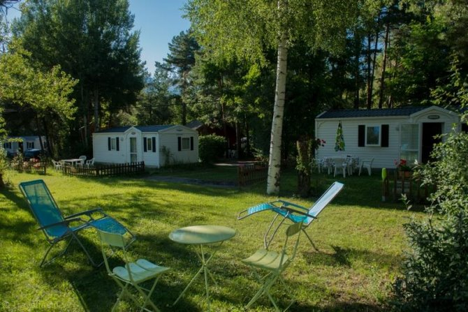 Camping Chalets Résidentiels Saint James les Pins 3*